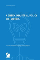 A Green Industrial Policy for Europe