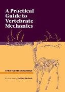 Pdf A Practical Guide to Vertebrate Mechanics