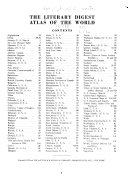The Literary Digest Atlas of the World