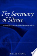 The Sanctuary of Silence Book