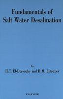 Fundamentals of Salt Water Desalination Pdf/ePub eBook