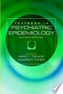 Textbook In Psychiatric Epidemiology Book PDF