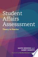 Student Affairs Assessment