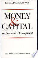 Money and Capital in Economic Development