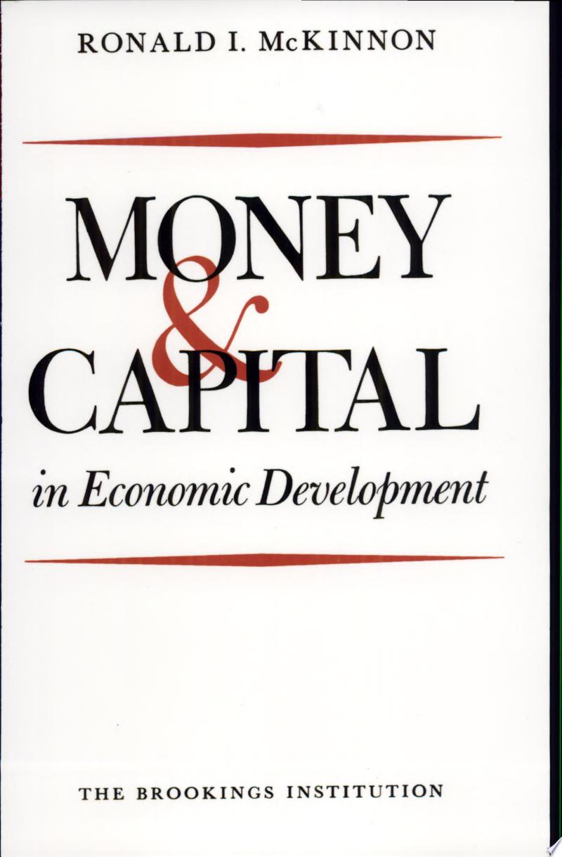 Money and Capital in Economic Development banner backdrop