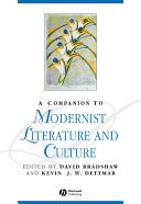 Pdf A Companion to Modernist Literature and Culture Telecharger