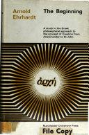 The Beginning ebook