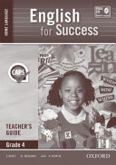 Books - English for Success Home Language Grade 4 Teachers Guide | ISBN 9780199051700