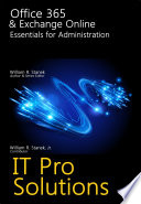 Office 365 And Exchange Online: Essentials for Administration.pdf