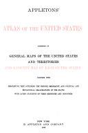 Appletons  Atlas of the United States