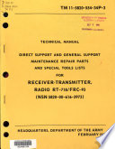 Direct Support and General Support Maintenance Repair Parts and Special Tools Lists for Receiver-transmitter, Radio, RT-718/FRC-93 (NSN 5820-00-616-3973).