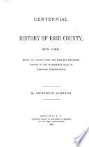 Centennial History of Erie County  New York