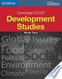 Books - Cambridge Igcse� Development Studies Coursebook | ISBN 9781107670778