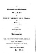 Pdf The Theological and Miscellaneous Works. Ed. with Notes by John Towill Rutt