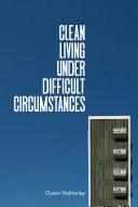 Pdf Clean Living Under Difficult Circumstances