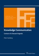 Knowledge Communication