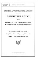 Omnibus Appropriations Act  2009  Provisions applying to all divisions of the act
