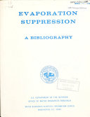 Evaporation Suppression