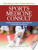 Sports Medicine Consult Book