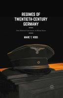 Regimes of Twentieth-Century Germany