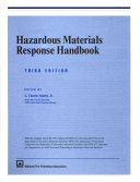 Hazardous Materials Response Handbook Book