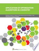 Application of Optimization Algorithms in Chemistry