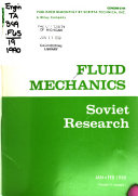 Fluid Mechanics  Soviet Research