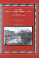 Remarks on Antiquities, Arts, and Letters During an Excursion in Italy, in the Years 1802 and 1803 Pdf/ePub eBook