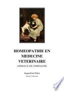 Homeopathie Le Chien