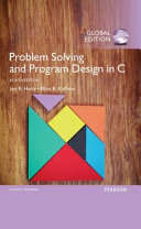 Cover of Problem Solving and Program Design in C, Global Edition
