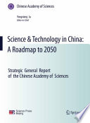Science   Technology in China  A Roadmap to 2050