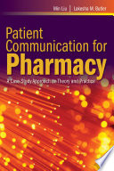 Patient Communication For Pharmacy Book PDF