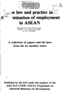 The Law And Practice In The Termination Of Employment In Asean
