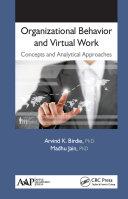 Organizational Behavior and Virtual Work Pdf/ePub eBook