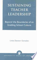Sustaining Teacher Leadership