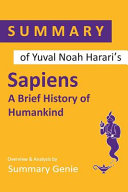 Summary Of Yuval Noah Harari's Sapiens