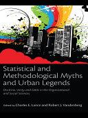 Statistical and Methodological Myths and Urban Legends Pdf/ePub eBook