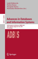 Advances in Databases and Information Systems [Pdf/ePub] eBook