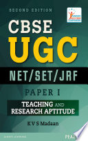 CBSE UGC NET / SET/ JRF Paper I : Teaching and Research Aptitude