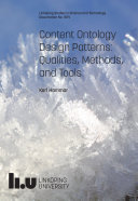 Content Ontology Design Patterns: Qualities, Methods, and Tools