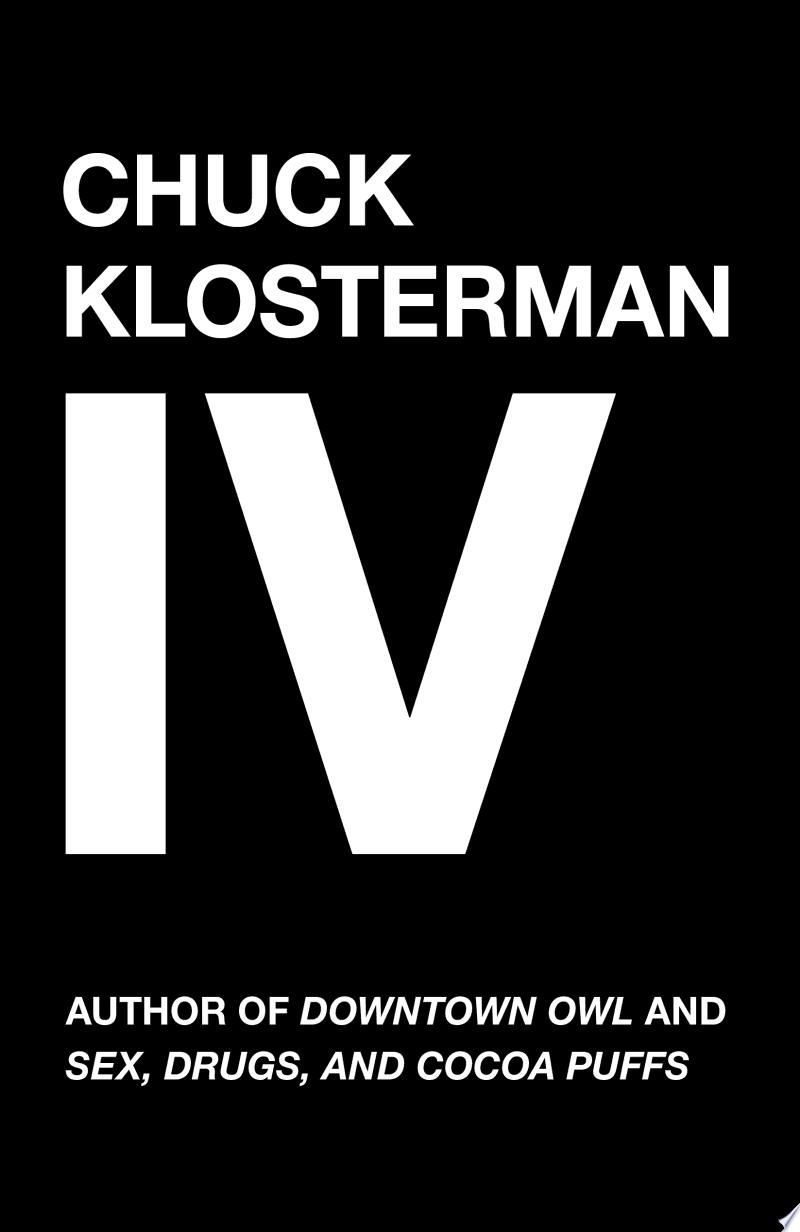 Chuck Klosterman IV banner backdrop