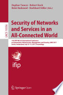 Security of Networks and Services in an All Connected World Book