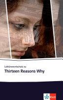 Lekt  rewortschatz Zu Thirteen Reasons Why