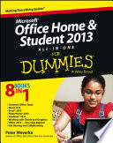 Microsoft Office Home And Student Edition 2013 All In One For Dummies