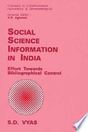 Social Science Information In India