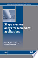 Shape Memory Alloys For Biomedical Applications Book PDF
