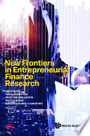New Frontiers In Entrepreneurial Finance Research Book