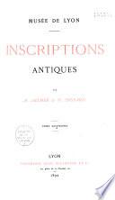 Inscriptions antiques
