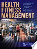 Health Fitness Management