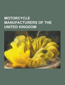 Motorcycle Manufacturers of the United Kingdom